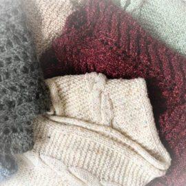 knitting and storytelling