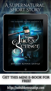 The Judge Senser, a short supernatural story by Soleah Kenna Sadge
